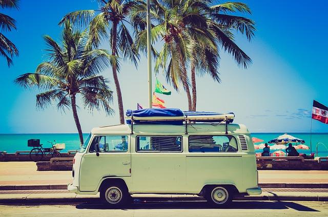 volkswagen u pláže