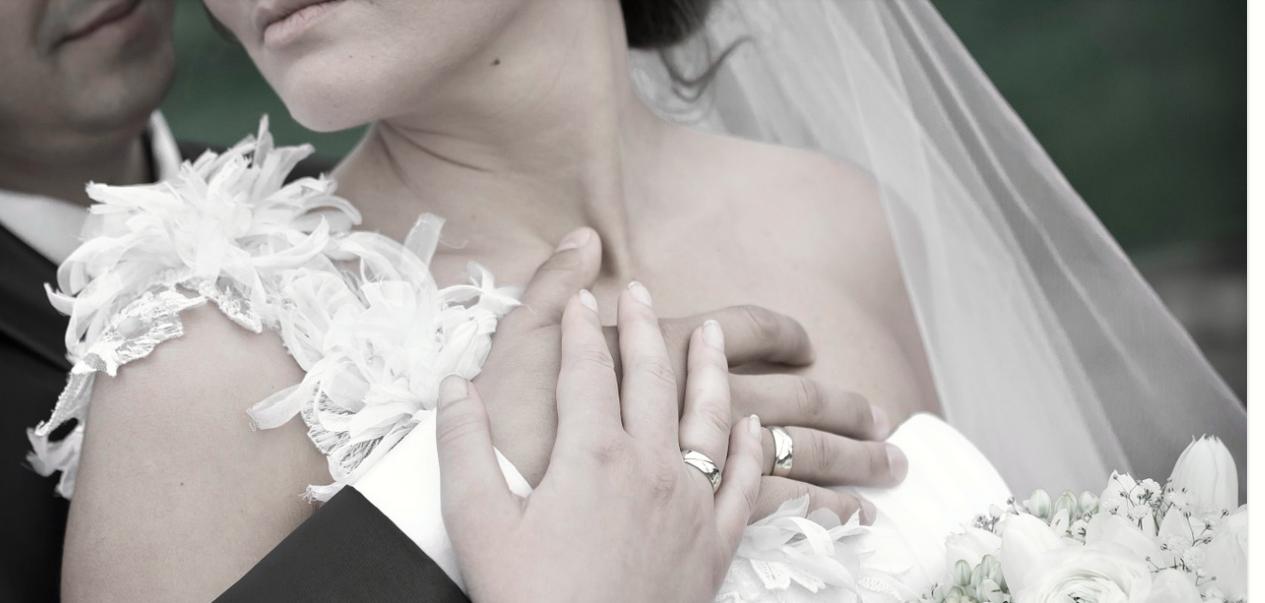 novomanželé láska